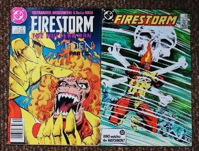 12: FireStorm Lot of (2) Comic Books CB412