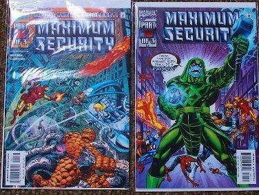 15: Maximum Security Lot of (2) Comic Books CB401