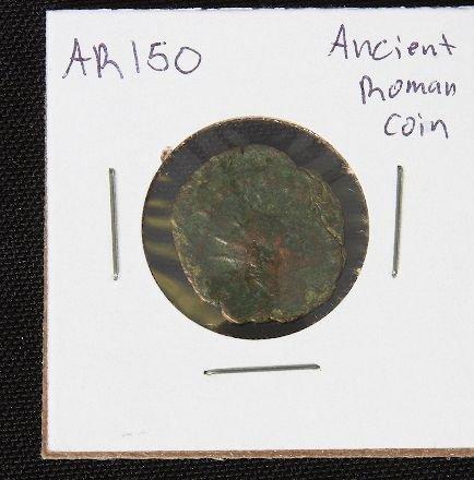 17: Ancient Roman Coin c. 270-378 AD AR150