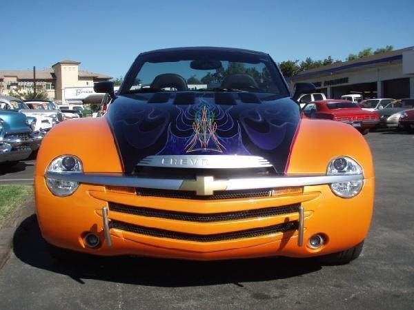 193: 2004 Chevrolet SSR Vintage Car / Automobile - 9110