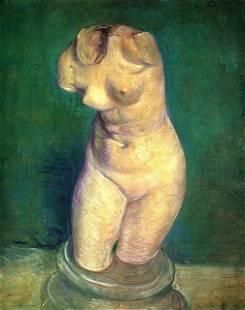 Van Gogh - Plaster Statuette Of A Female Torso 6