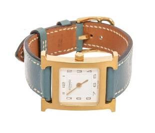 Hermes Gray Heure H 21MM Watch
