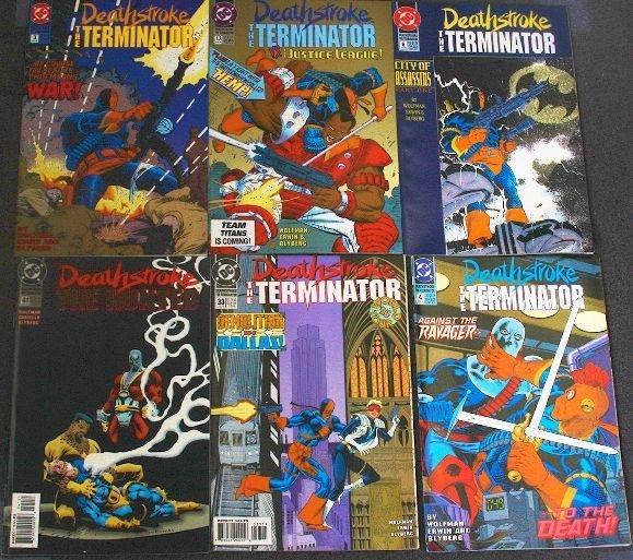 20: Deathstroke Terminator - CB584 Lot of (6) Vintage C