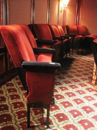 214: Vintage Theater Seats from Radio City Music Hall