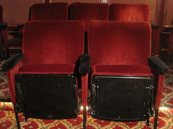 214: Vintage Theater Seats from Radio City Music Hall - 2
