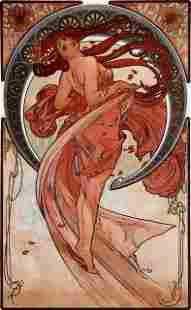 Alphonse Mucha - Dance