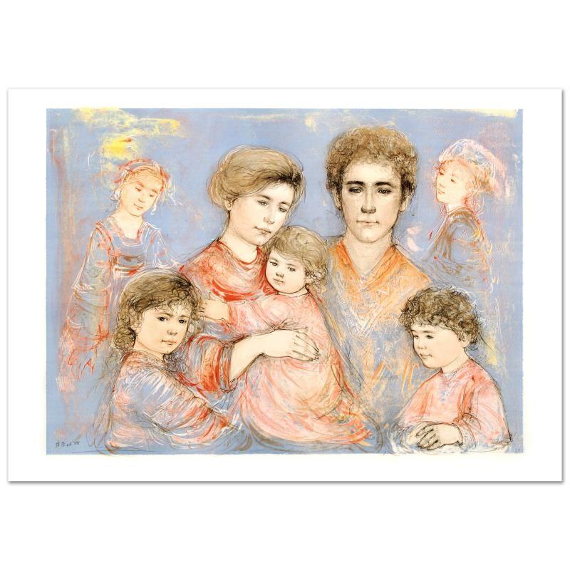 Michael's Family by Hibel (1917-2014)