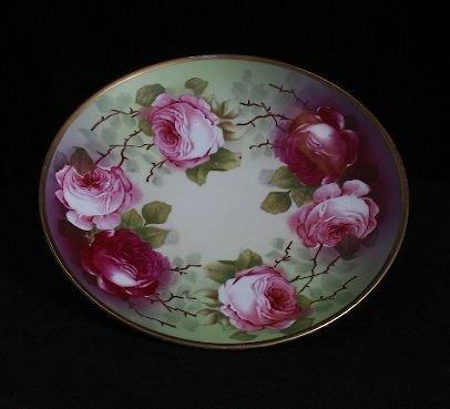 7: Antique Hand Painted Royal Austria Plate