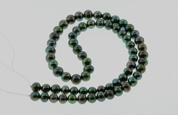 18: Cultured Dark Pearls Strand 7-8mm (approx. 65) PS7