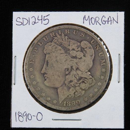 21: 1890-O Morgan Silver Dollar SD1245