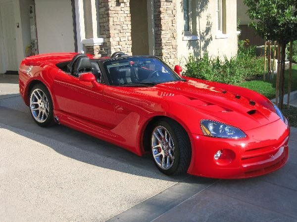 225A: 2004 Custom Dodge Viper Street Serpent
