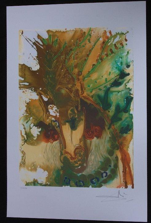 Salvador Dali - Alexander's Horse - Print