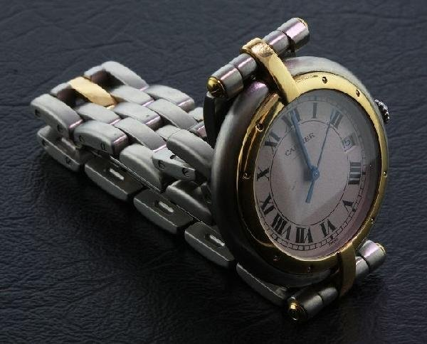 Two-Tone Cartier VLC Panthere Watch A447 FULL APPRAISAL