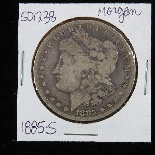 1885-S Morgan Silver Dollar SD1238