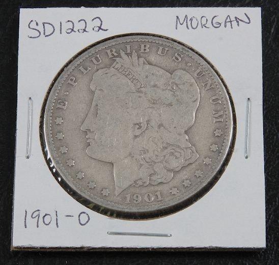 1901-O Morgan Silver Dollar SD1222