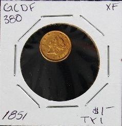 1851 $1 TY1 GCDF380