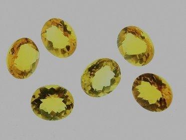 Citrine Parcel 6 Gemstones 24.77cts DL81