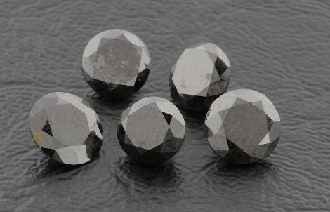 Black Diamond Parcel 5 Gemstones 5.78cts - DF199