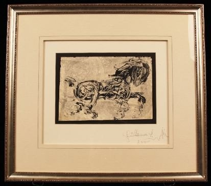 Guillaume Azoulay Original Pen & Ink Drawing. ED473