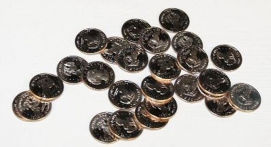 1980-S Proof Susan B. Anthony Dollar Coins (25) CT31
