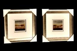 Pair of Limited Edition S/N Lithos by NY Artist Sharon