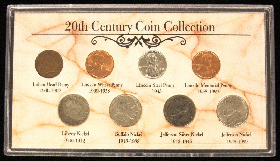 U.S. Coins 20th Century Coin Collection CS177