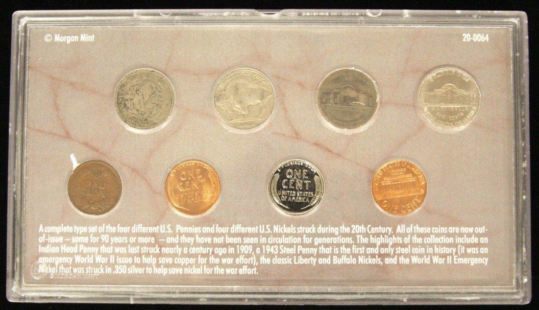 U.S. Coins 20th Century Coin Collection CS177 - 2