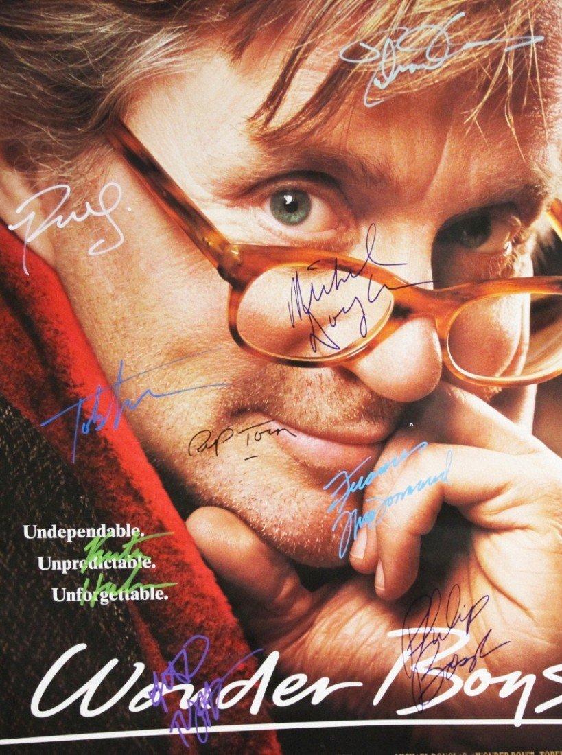 """Wonder Boys"" Autographed Movie Poster SM39 - 2"