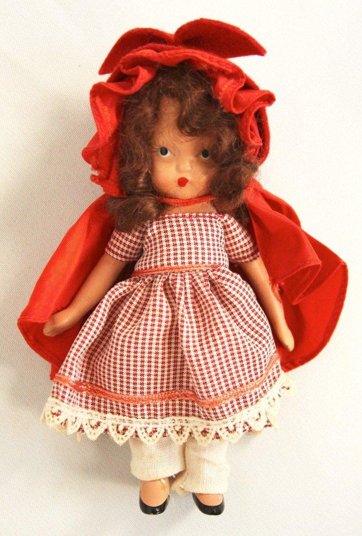 Vintage Nancy Ann Storybook Doll Little Red Riding Hood