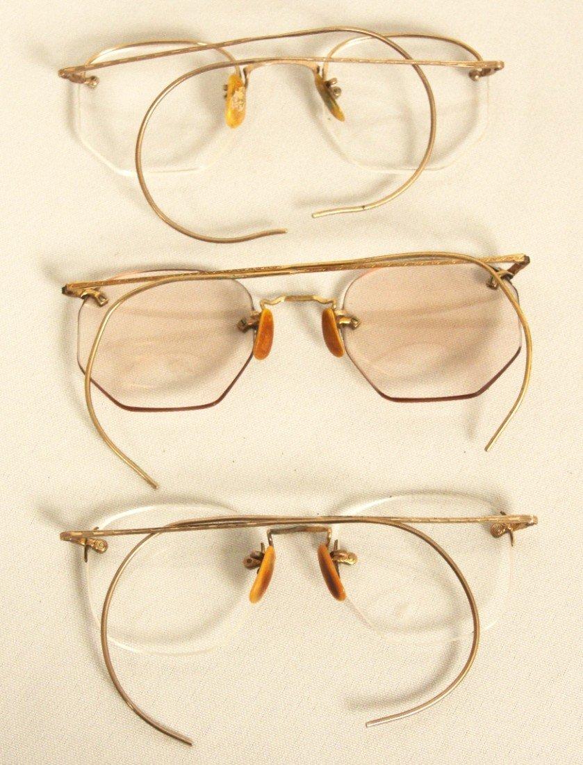 Lot of 3 Vintage/Antique Eyeglasses ED1184 - 2