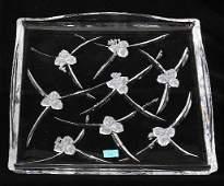 Hoya Crystal Flower Tray NB ED431
