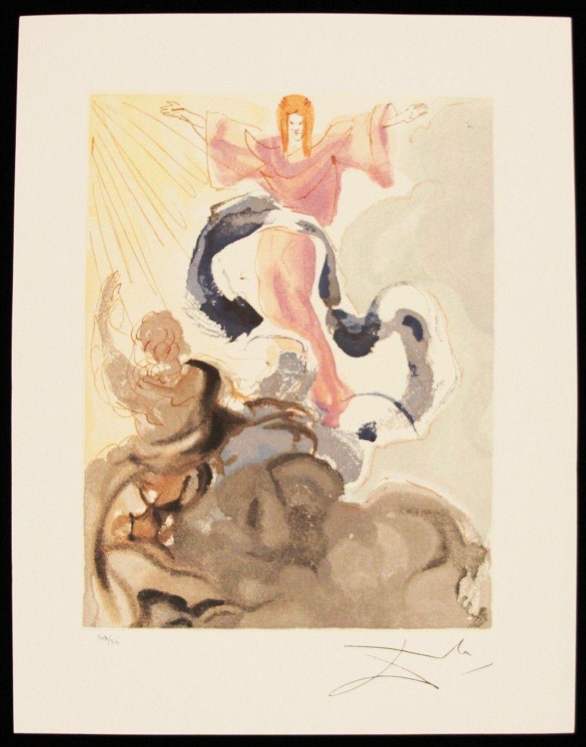 "Salvador Dali ""Piccarda Donati"" Fine Art Print AP521"