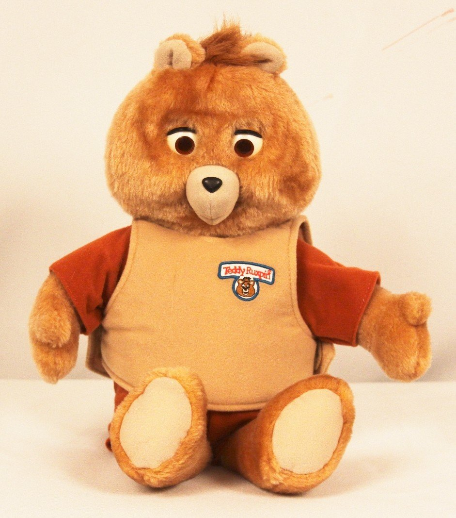 Teddy Ruxpin Toy with Cartridge and 2 Books BD243 - 2