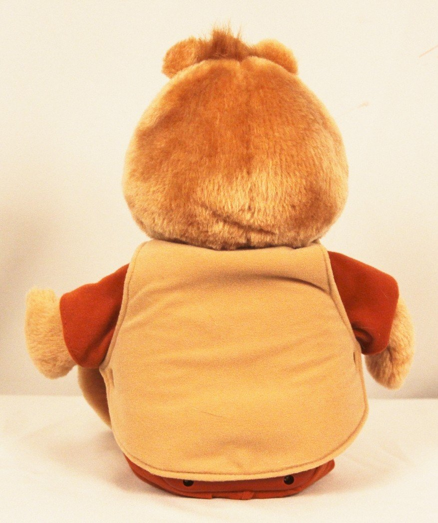 Teddy Ruxpin Toy with Cartridge and 2 Books BD243 - 3