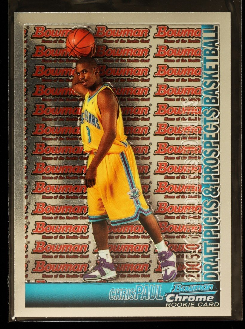 2005 Bowman Chrome Chris Paul Rookie Card C288