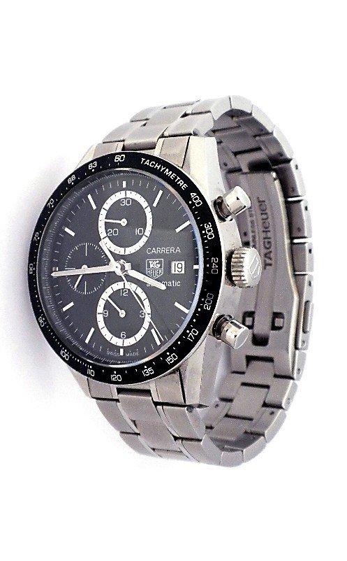 Tag Heuer Carrera Chronograph Wristwatch WBS62
