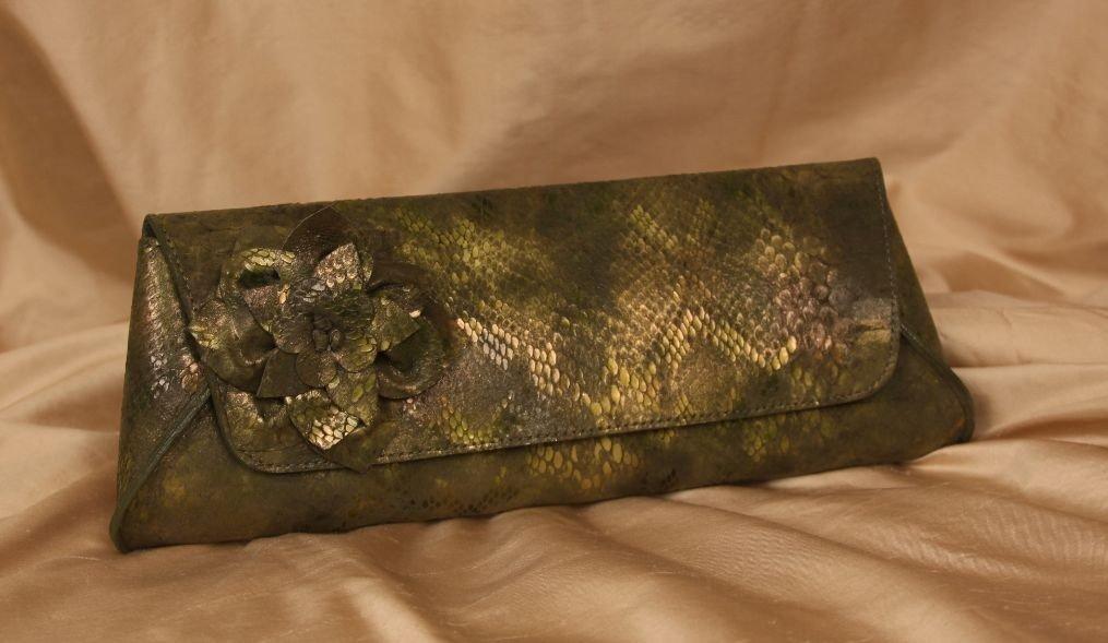 New w/Tags Luciano Designer Clutch Handbag ED665