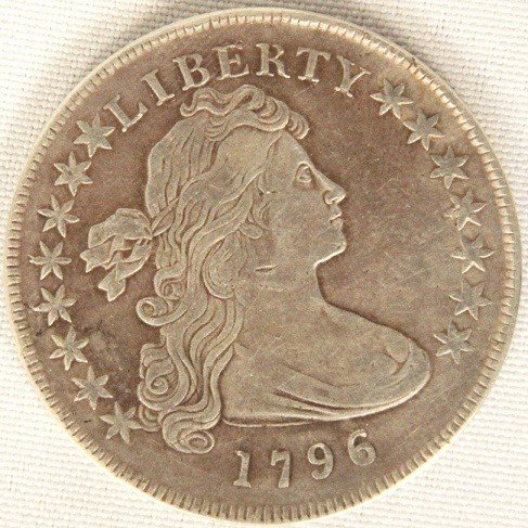 1796 $1 Draped Bust/SM Eagle Gold Coin DaveF481