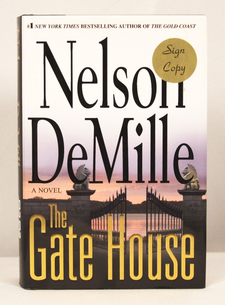 """Autographed Copy of """"The Gate House"""" BK168"""
