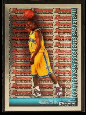 2005 Bowman Chrome Chris Paul Rookie Card C290