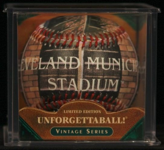 """Unforgettaball! """"Cleveland Municipal"""" Collectable Baseb"""