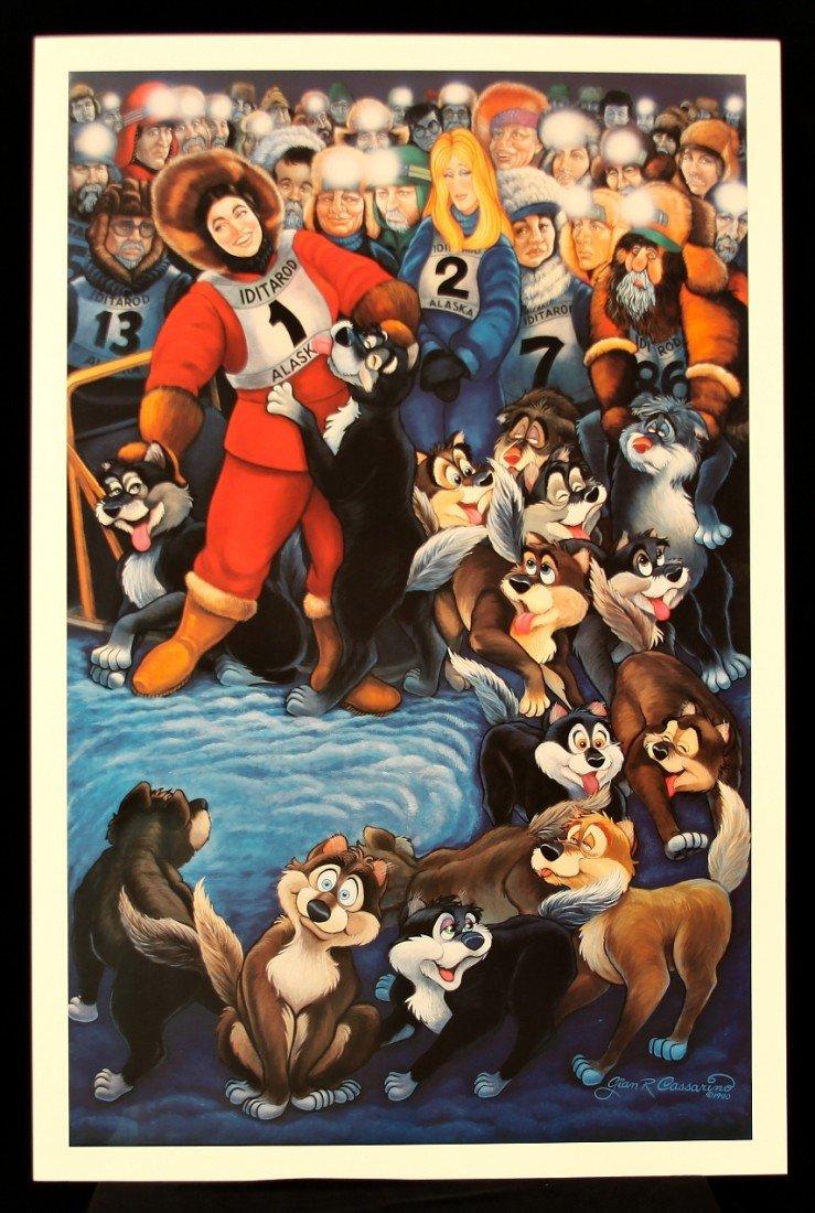 Alaska by G.R. Cassarino Walt Disney Artist AP264