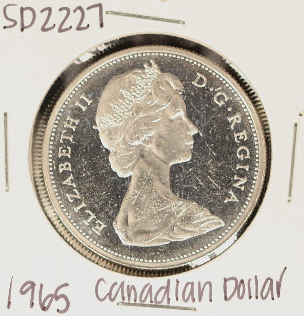 1965 Canadian Silver 'Loonie' Coin SD2227