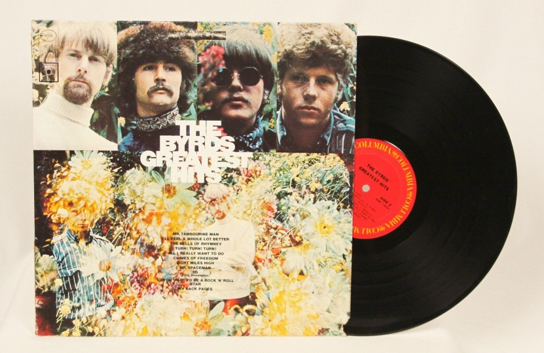 """""""The Byrds' Greatest Hits"""" Vinyl Record BD176"""
