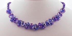 Ultra-Violet Crystal Necklace CN47