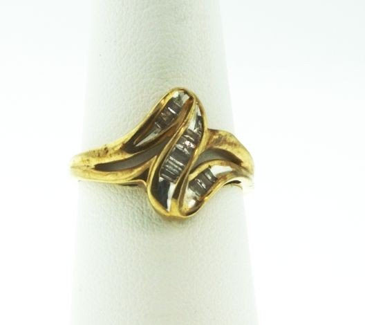 10KT Yellow Gold Diamond Ring .25ct GD75
