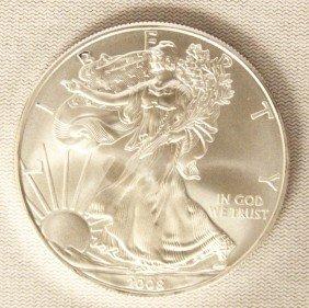 2008 American Silver Eagle COMS152