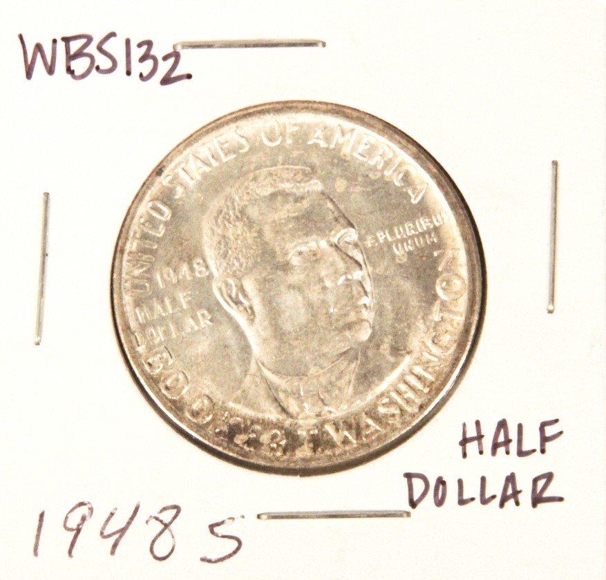 1948-S Booker T. Washington Commemorative Half Dollar C