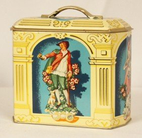 Vintage Regal Crown Confections Tin BD347