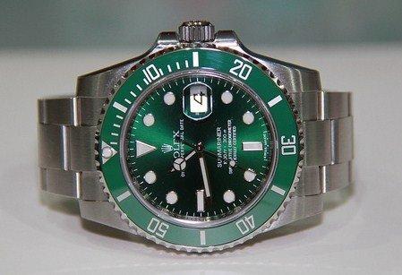Rolex Submariner Green Dial Wristwatch F4